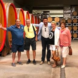 wine tasting from sorrento