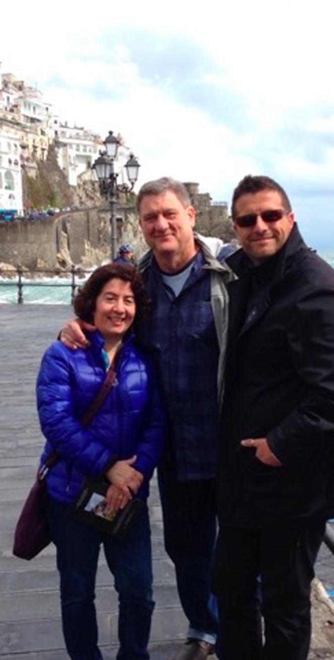 Private tour pompeii positano sorrento from Amalfi Coast