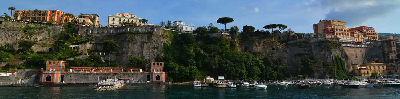 Shore Excursions Naples, Sorrento and Amalfi