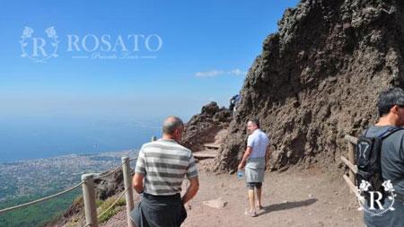 Shore excursion Vesuvius and Pompei from Sorrento