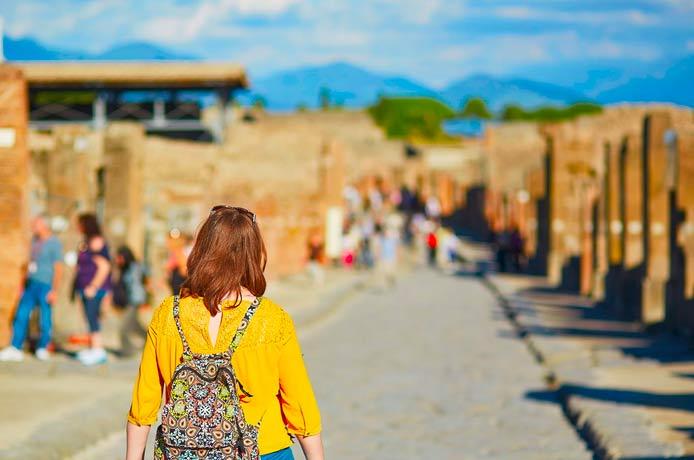 Private Tour from Naples port to Pompeii, Herculaneum and Vesuvius