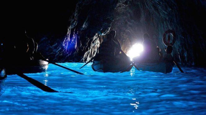 Blue Grotto Capri private tour from Sorrento