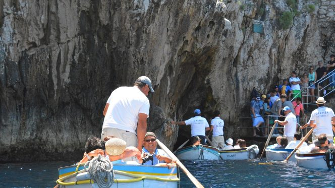 Capri Blue Grotto tour from Sorrento