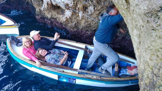 Capri blue grotto tour from Naples