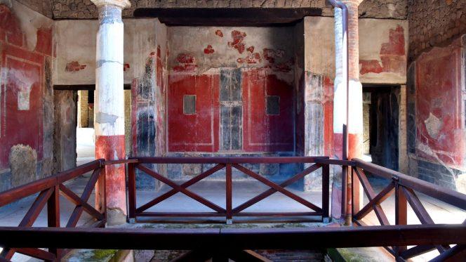 Domus Pompeii ruins - Shore Excursion from Naples