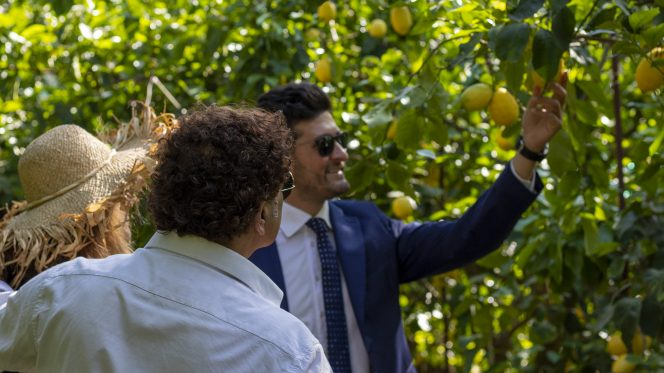 Limoncello tasting in Sorrento from Naples