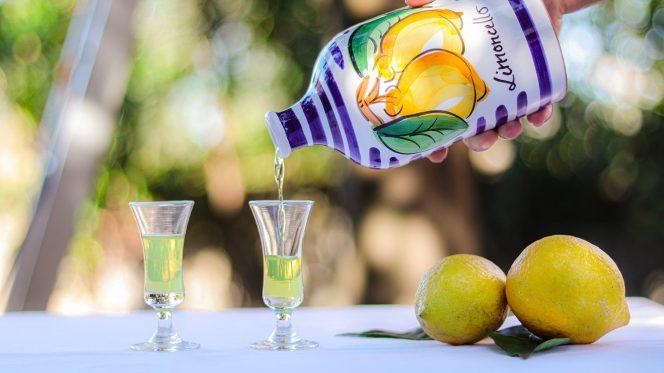 Limoncello Sorrento Tasting