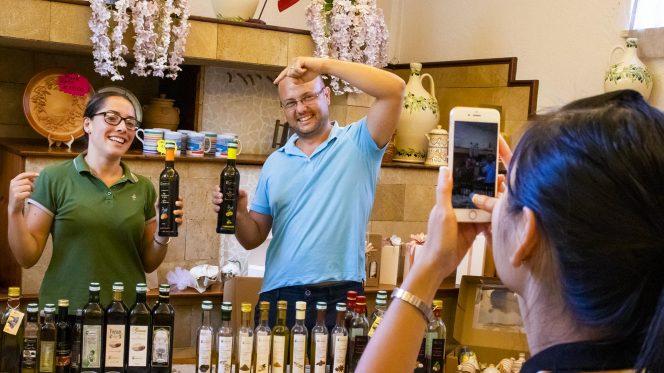 Extravirgin Olive oil tasting in Sorrento