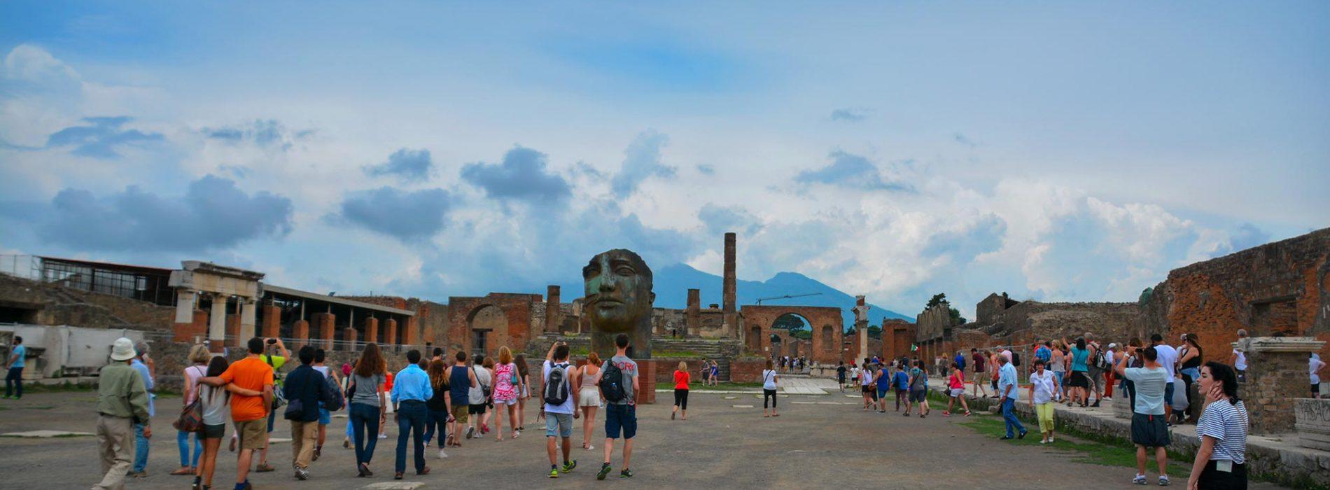 Pompeii from Amalfi Coast