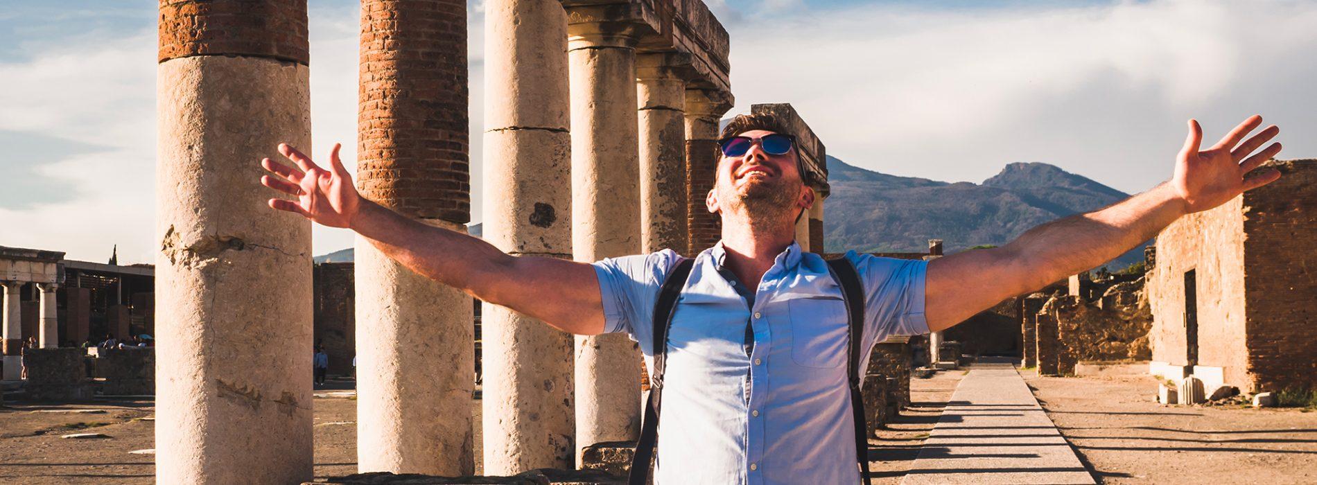 Tour from Naples Port to Pompeii and Amalfi Coast