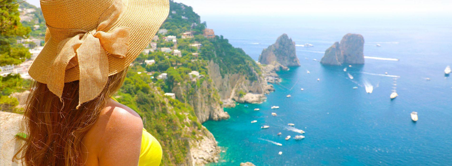 Shore Excursion from Naples to Pompeii, Sorrento and Capri