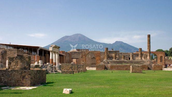 Shore Excursion from Naples to Pompeii, Positano and Sorrento
