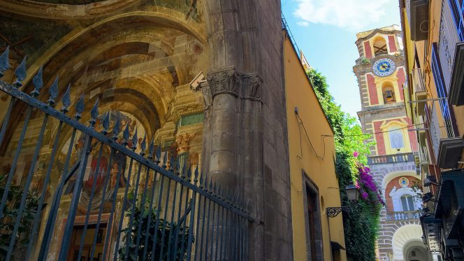 Sorrento tour from Naples port