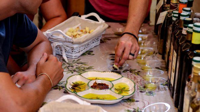 Tasting olive oil in Sorrento - Food Tour Sorrento