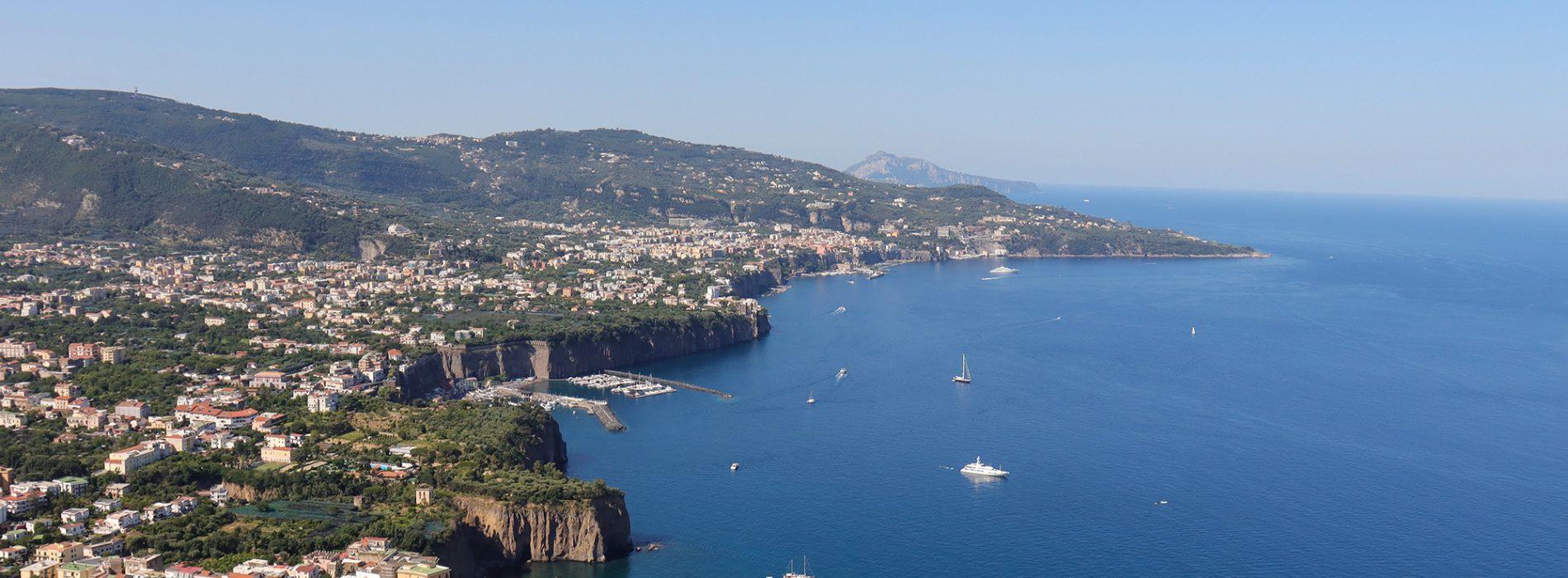 Shore excursion Pomepii Sorrento and Positano from Naples Port