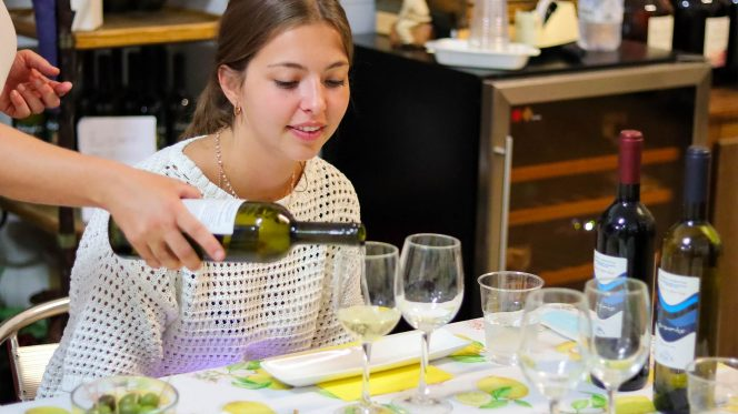 Amalfi Coast, Sorrento Wine Tasting and Pompeii from Naples
